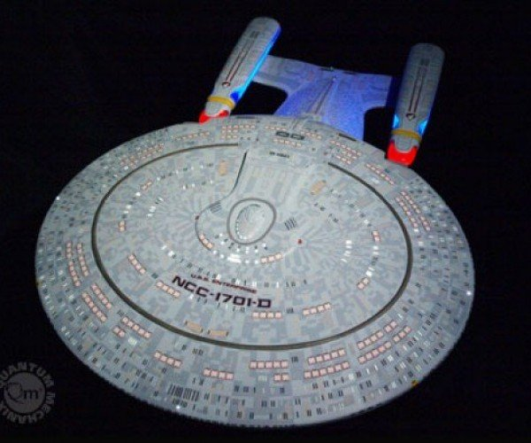 Perfect 1:850 Scale Star Trek TNG Enterprise Replica Will Cost You 9,995 Federation Credits