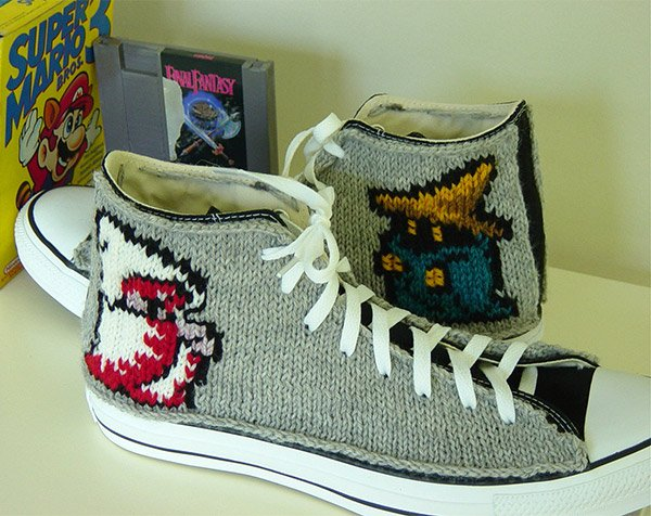final fantasty knit chucks