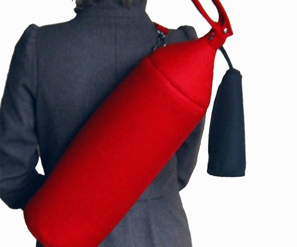Fire Extinguisher Bag is Smokin' Hot
