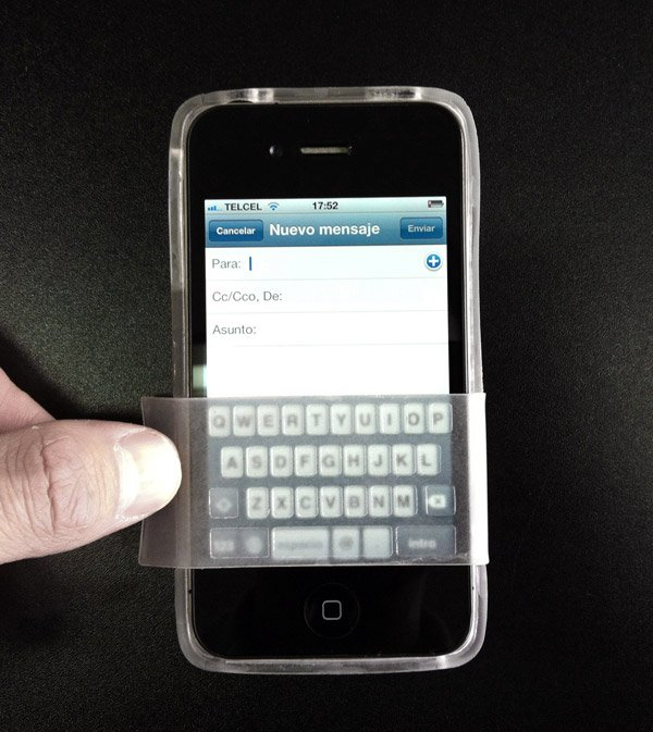 fliptype nos design keyboard iphone case blackberry