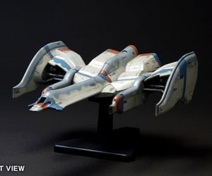 galaga fighter model kit by wave corp 300x250