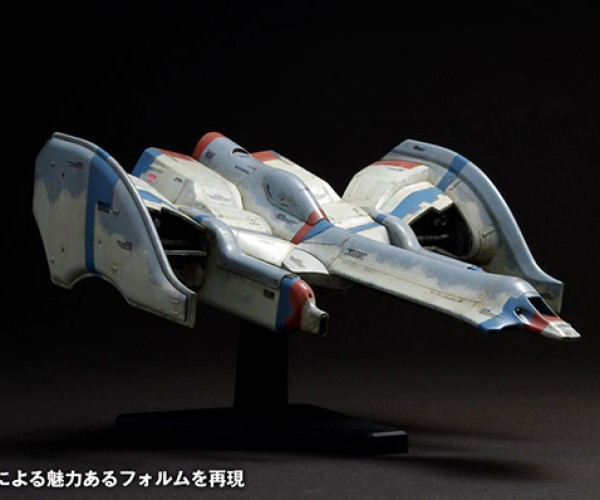 galaga fighter model kit by wave corp 4