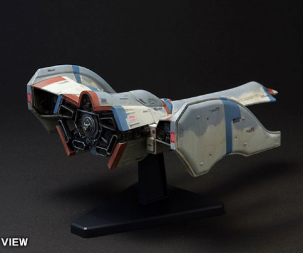 galaga fighter model kit by wave corp 5