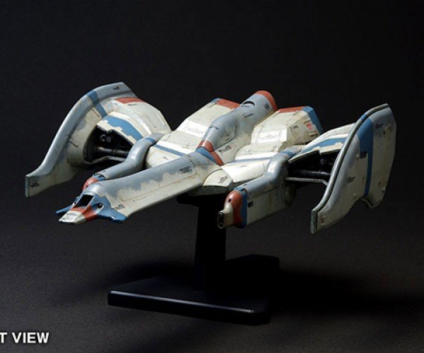 Galaga Fighter Model Kit: From 8-Bit to Real Bits