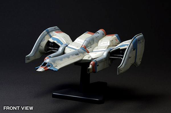 galaga fighter model kit by wave corp