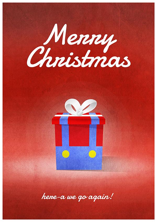 gamerprint christmas cards