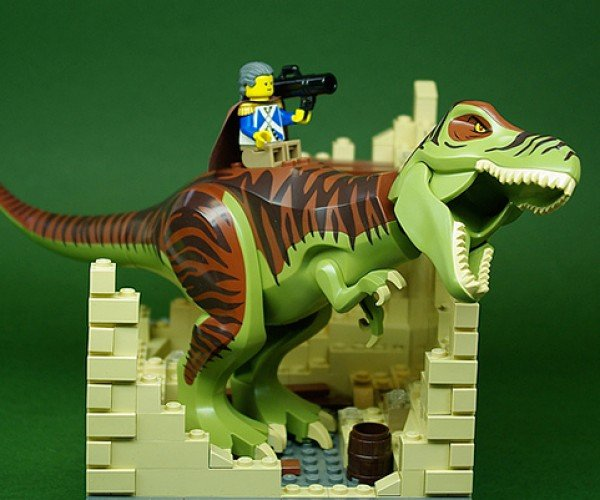 Great Leaders on Great Lizards [LEGO]
