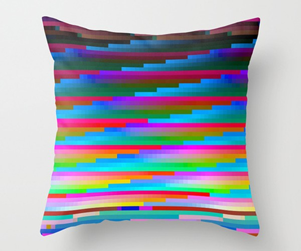 glitch throw pillows by benjamin berg 3