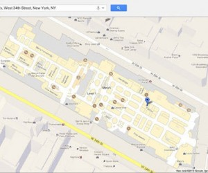 Google Maps Rolls out Store Floor Plans to Web Version