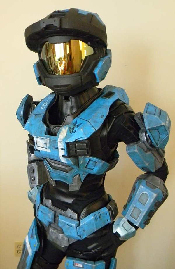 Halo Fan Made Kat Armor Is Out Of This Reach Technabob