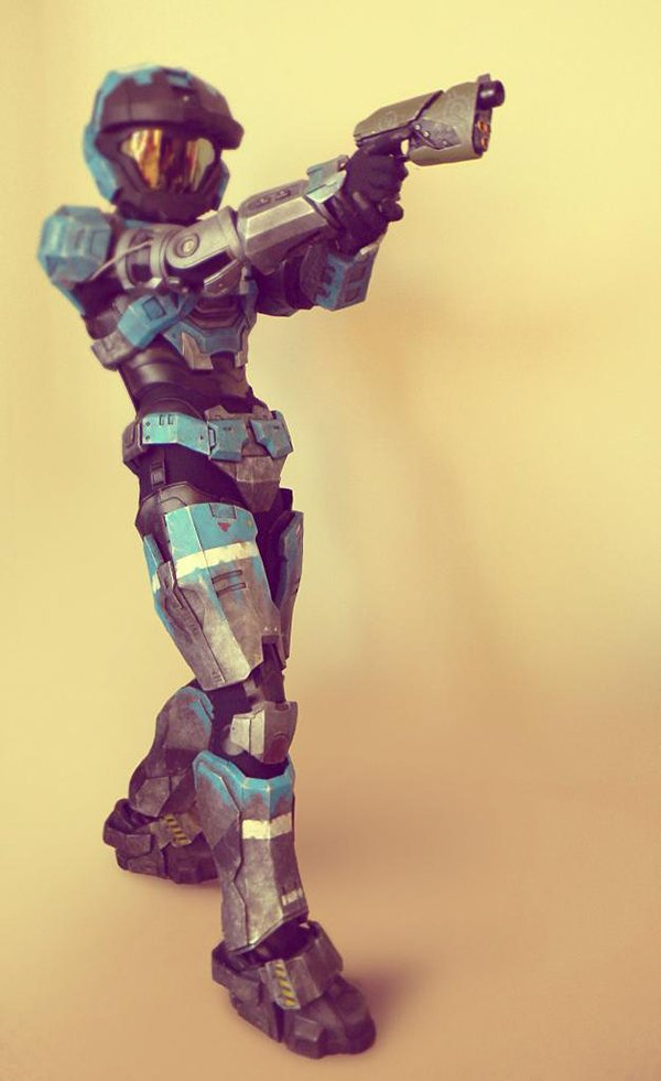 halo reach kat armor by liltyrant