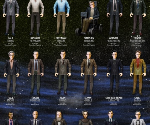 Heroes of Science Action Figures Would Get Their Butts Kicked by G.I. Joe