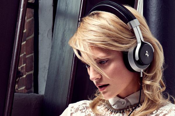 ferrari logic3 headphones cavallino over ear