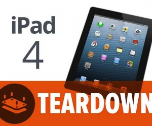 iPad 4 Teardown from iFixit Exposes New Apple Tablet's Juicy Insides