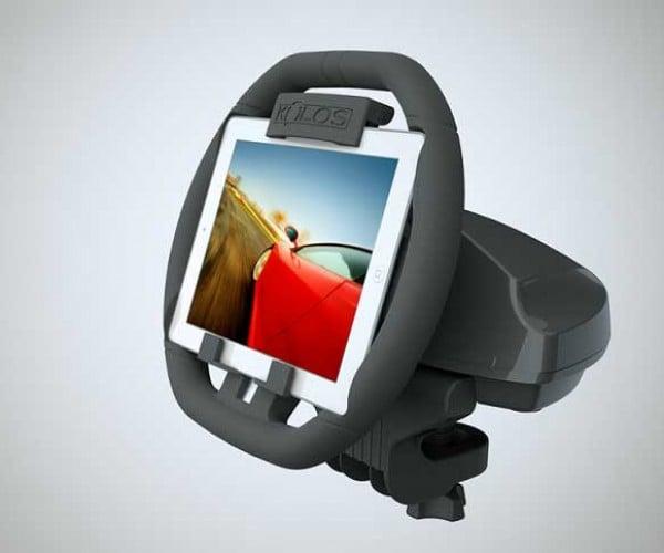 Kolos iPad Steering Wheel Turns Tablets into Racers