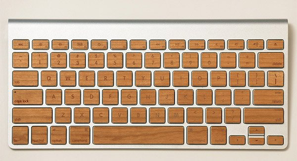 lazerwood apple keyboard