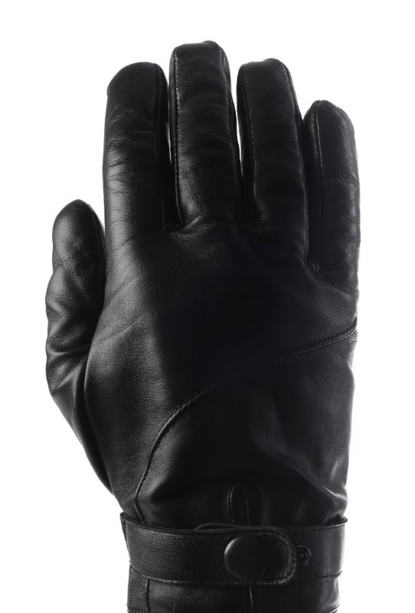 leather mujjo touchscreen gloves back