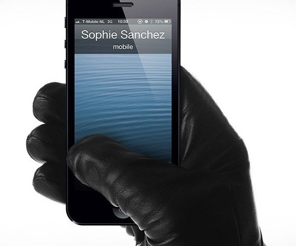Mujjo Leather Touchscreen Gloves: Use Your Smartphone With Style This Winter