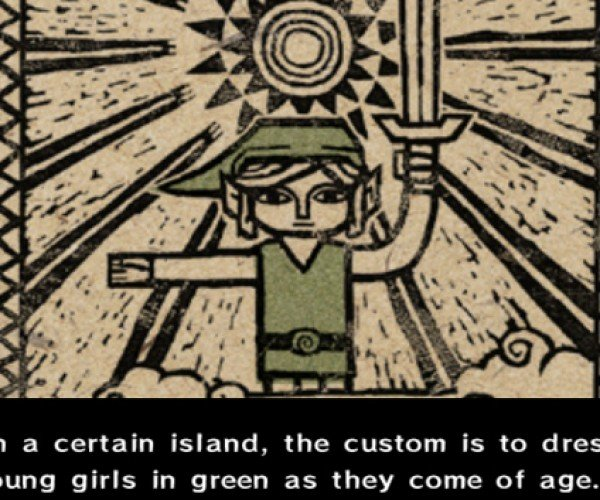 Dad Gives Daughter a Wind Waker Hacked to Make Link a Girl: The Legend of Zeldo