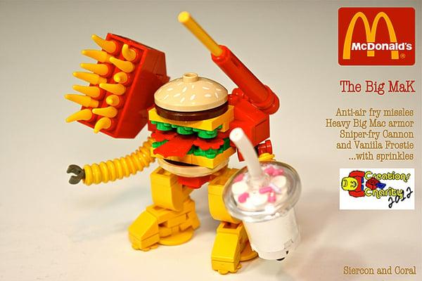 lego big mak mech by sean and steph mayo
