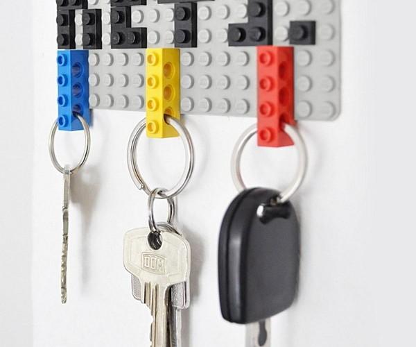 LEGO Brick Keyrings: Simple Genius