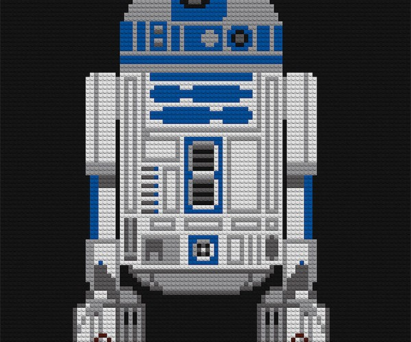 Star Wars LEGO Mosaics: The Real LEGO Star Wars