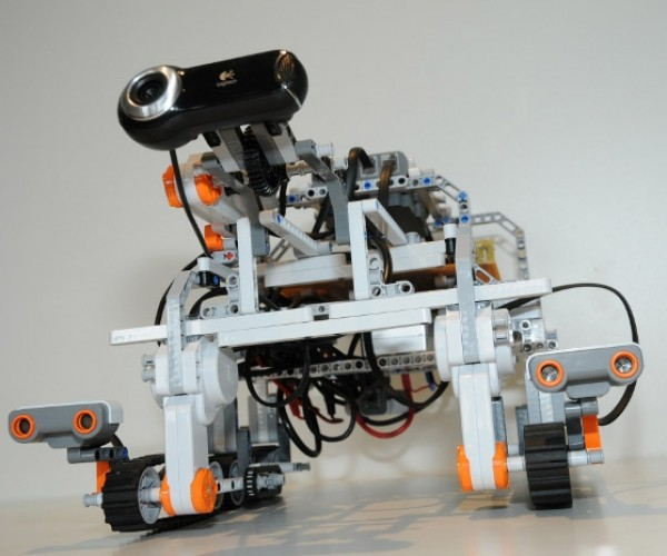 Long Distance Remote Control: Astronaut Plays with LEGO Robot from Space