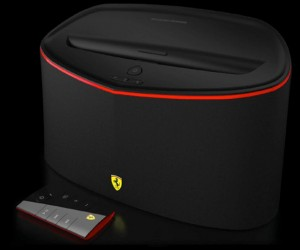 Ferrari Logic3 Scuderia FS1 Air Bluetooth Speaker: Doesn't Go Fast, But Does Get Loud