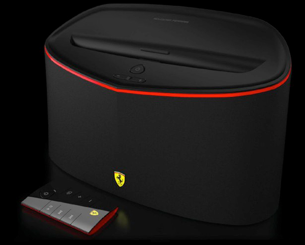 logic3 ferrari scuderia fs1 bluetooth speaker dock ios