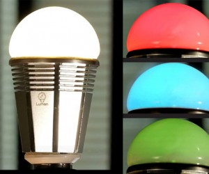 Lumen Color Changing LED Light Bulb Goes with Bluetooth, Not Wi-Fi