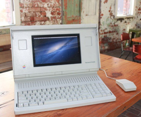 Macintosh Portable Hackintosh: Mac OS X on a PC Dressed as a Mac