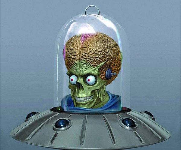 Mars Attacks! Christmas Ornament: Just Don't Yodel Near It