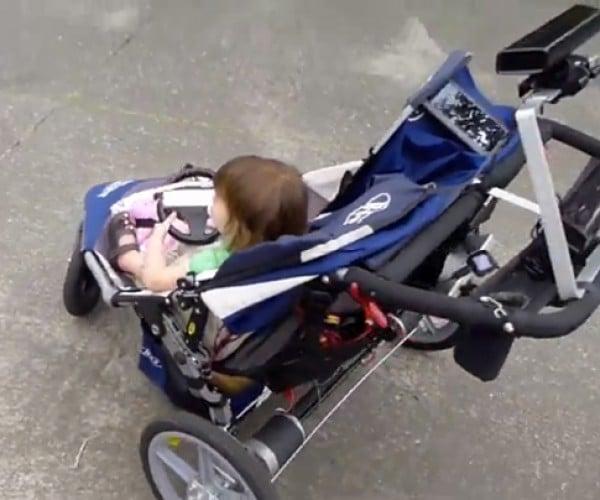 Mechanized Steerable Stroller: Baby's First Mech