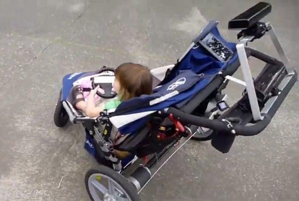 mechanized stroller by xandon frogget