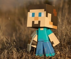 minecraft steve vinyl action figures 2