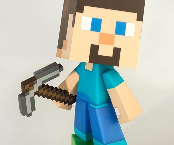 minecraft steve vinyl action figures 4
