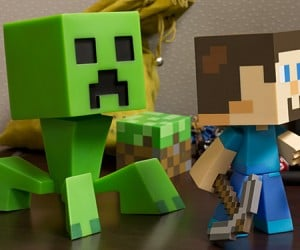minecraft steve vinyl action figures 5
