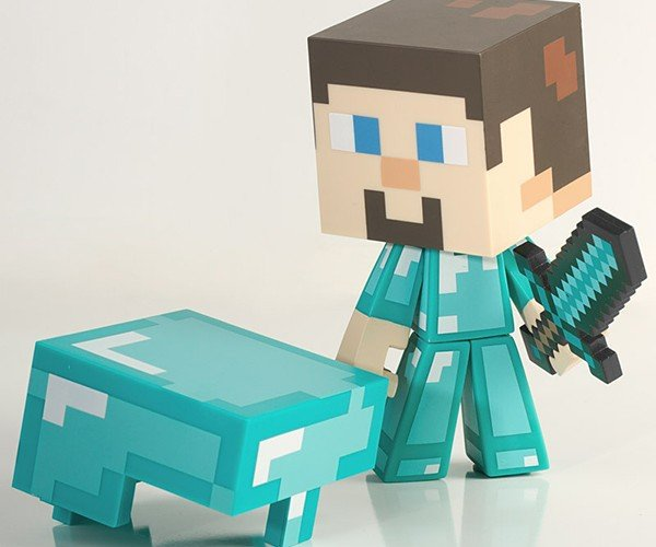 minecraft steve vinyl action figures 7