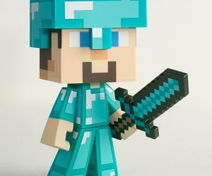 minecraft steve vinyl action figures 8 300x250