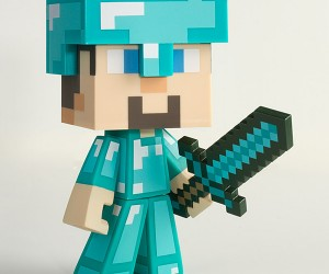 minecraft steve vinyl action figures 8