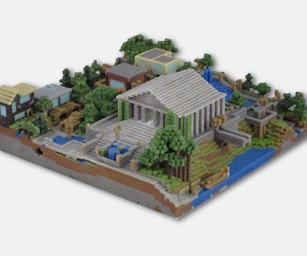 Minecraft 3D Prints Bring Your Creations to Life
