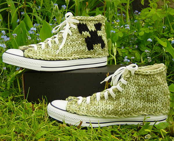 minecraft creeper chucks