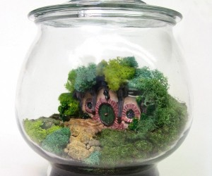Miniature Bag End Terrarium: The Hobbits Downsize