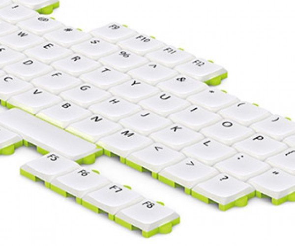 Modular Puzzle Keyboard Lets You Re-arrange the Keys to Your Heart's Content