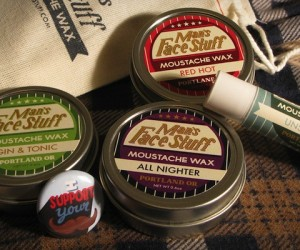 Movember Must: Man's Face Stuff Mustache Wax