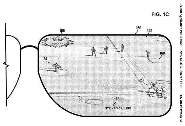 msft glasses patent 1