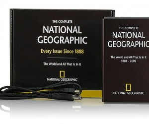 100+ Years of National Geographic Fits on a Pocket Hard Drive