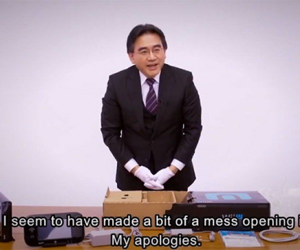 Nintendo Unboxes its Own Wii U