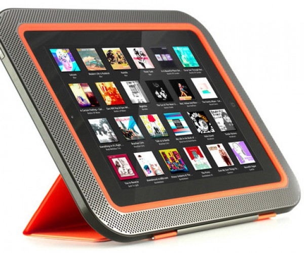 ORA Speaker Wraps Around Your iPad to Give You Surround Sound – Literally