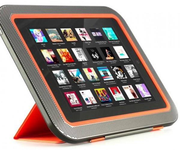 ORA Speaker Wraps Around Your iPad to Give You Surround Sound – Literally